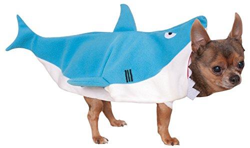 Rubies Offizielles Pet Hund Kostüm, Shark–Kleine