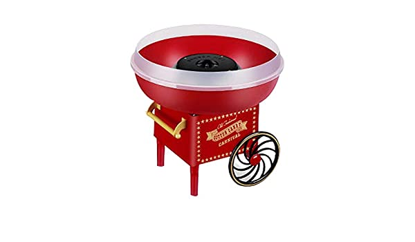 Bycws Cotton Candy Machine Sans Sucre Dur Barbe A Papa Maker Fait Maison Bonbons Fete Party Garcon Enfants Jour Saint Valentin Cuisine Maison Petit Electromenager