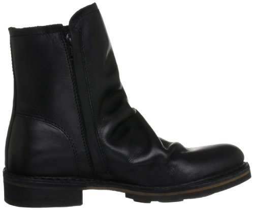 Fly London Damen NING Biker Boots Schwarz (Black 005)