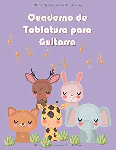 Cuaderno de Tablatura para Guitarra: 5 Tabs por página en tamaño A4 para anotación musical