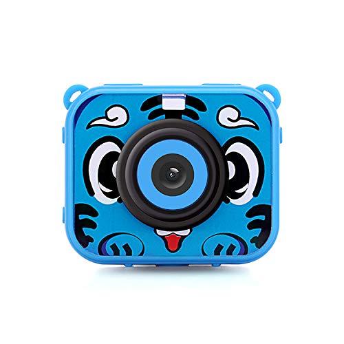 AIBAB Caméra Étanche Enfant Mini Photographie De Sport Résolution 1080p Bleu