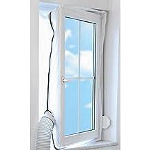 TROTEC AirLock 100 guarnizione per finestre   per climatizzatori ed essiccatori con scarico esterno dell'aria   Hot Air Stop