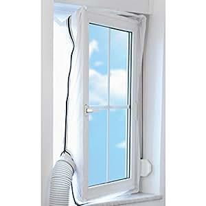 trotec airlock 100 kit de calfeutrage pour climatiseur mobile bricolage. Black Bedroom Furniture Sets. Home Design Ideas