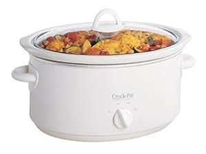 Crock-Pot Slow Cooker, 3.5 Litre, White