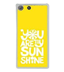 Love Quote 2D Hard Polycarbonate Designer Back Case Cover for Sony Xperia M5 Dual :: Sony Xperia M5 E5633 E5643 E5663