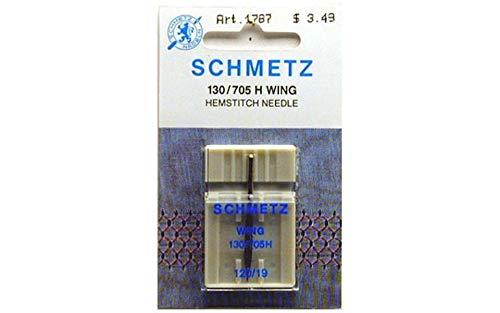 Schmetz Needle Hemstitch Single Size 120/19