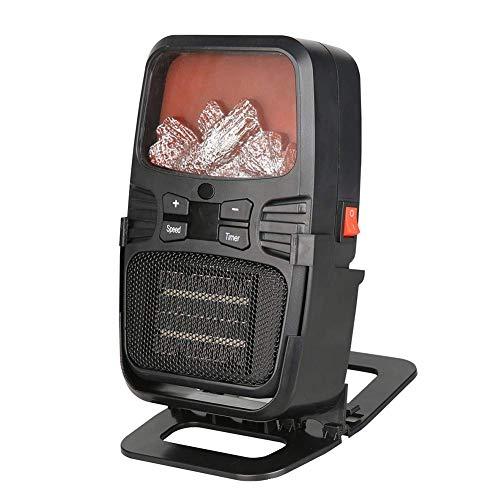 Ventilador de calefacción de aire caliente del ventilador eléctrico portátil con tecnología térmica...