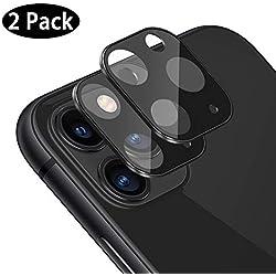Caméra Arrière Protecteur pour iPhone 11 Pro / 11 Pro Max 2019, [2 Pièces] Caméra Protecteur D'écran Film Verre Trempé Caméra Arrière Protecteur D'objectif pour iPhone 11 Pro / 11 Pro Max 2019