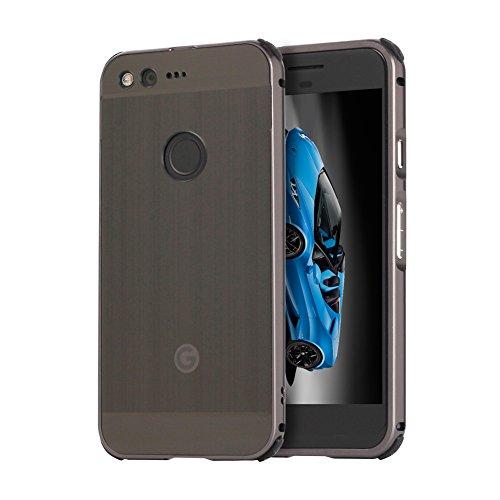 TOCASO Luxus Spiegel Aluminium Schutzhülle Hardcase Hülle für Google Pixel XL 5.5