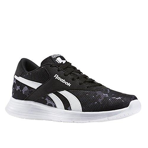 Reebok Unisex-Kinder Royal Ec Ride Camo Sneaker Low Hals Schwarz (Nero Black/White) 35 EU -