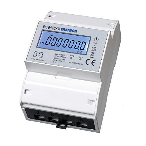 SDM72BiS - saldierender digitaler zweirichtungs Drehstromzähler mit momentan Lastanzeige und Tageszählfunktion (rückstellbar)