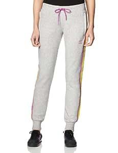 adidas Women's Fleece Girly Flock Pant - Grey Heather, Size 32