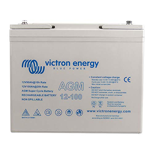 Victron AGM 12V 100Ah Super Cycle Batterie C20