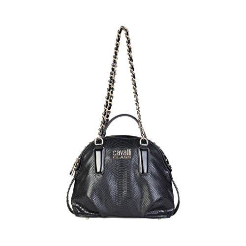 Cavalli Class - Sac porté épaule pour femme (C41PWCBV0052_999-BLACK) - Noir