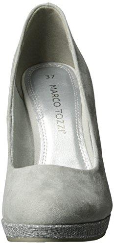 Marco Tozzi 22441, Scarpe con Tacco Donna Grigio (Grey Comb 221)
