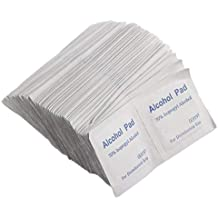 100 PCS/Box Profesional Alcohol Wipe Pad Medical Swab Sachet Antibacterial Tool Cleanser Limpieza de