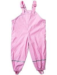Axoe - Pantalón impermeable - para niña Rosa