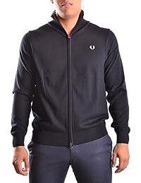 Fred Perry Homme MCBI128126O Noir Coton Sweatshirt