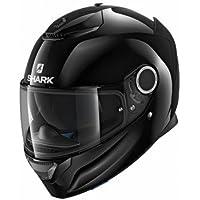 Shark Casco para moto Hark Spartan Blank, negro, talla S