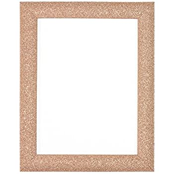 rose gold colour stardust photo frame picture frame poster frame ready to hang or stand with. Black Bedroom Furniture Sets. Home Design Ideas