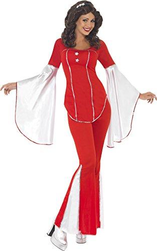 Kostüme Trooper Super (Smiffys, Damen Super Trooper Kostüm, Oberteil, Hose und Stirnband, Größe: L,)