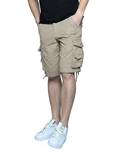 Match Herren Cargo Shorts #S3612 (3612 Aprikose,52 (Tag size 5XL/42)) (Utility-chino-shorts)
