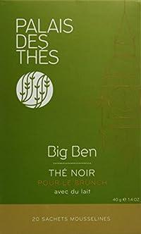 Palais des Thés, Signature Tea Blends Collection, Big Ben Breakfast (Single Estate English Breakast)