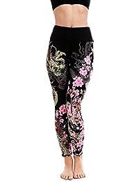 b3abad7c5 Logobeing Deportes Mujeres Gimnasio Yoga Running Fitness Polainas Pantalón  Atlético Pantalones Pantalones Fitness EláStico Leggings (