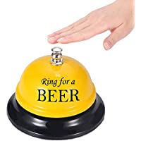 do4u llamando a Servicio Bell Servicio de Recepción Bell ringing Servicio Bell mano SIRVIENTE Servicio Butler Servicio Bell Couter Bell para el Porter cocina restaurante bar Classic recepción Hotel uso, Amarillo, ring for better