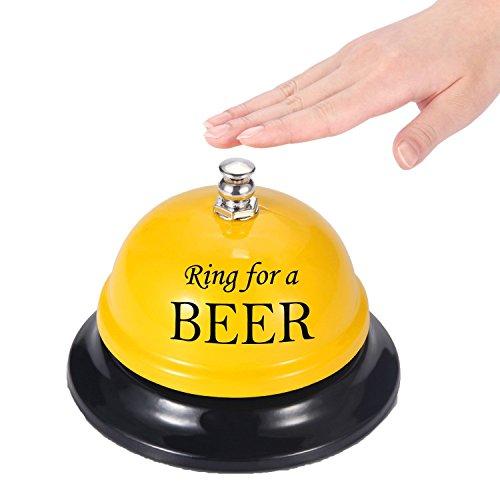 Do4U Anruf Bell Schreibtisch Service Bell Empfang Glocke für den Porter Küche Restaurant Bar Classic Concierge Hotel Nutzung (Ring für Besser, Gelb)