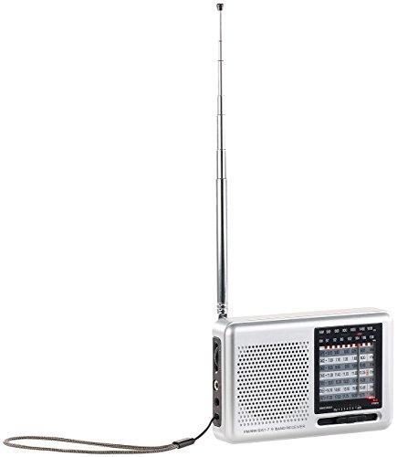 auvisio Taschenradio: Analoger 9-Band-Weltempfänger mit FM, MW & 7x KW, Jackentaschen-Format (Reiseradio) Test