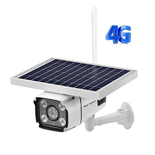 GGYSSY Solar Wireless Outdoor-Überwachungskamera, 4G SIM-Karte Netzwerkunterstützung