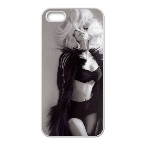 LP-LG Phone Case Of Lady Gaga For iPhone 5,5S [Pattern-6] Pattern-4