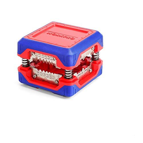 WORKPRO Abisolierzange Entmanteler Kabelabisolierer Schneidzange DIY 6-24 AWG Kabeldurchmesser von 0.5-4.1 mm Magic Box Volldraht Einzigartiges kompaktes Design