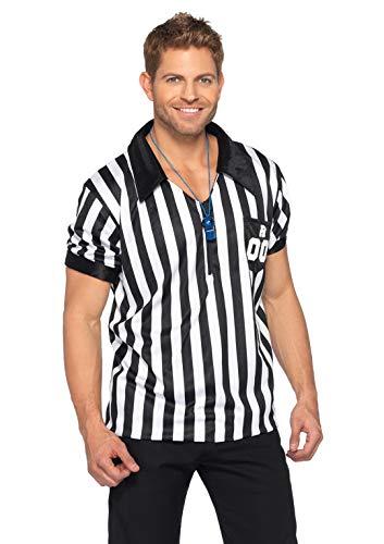 Für Schiedsrichter Erwachsene Damen Kostüm - Leg Avenue Männer Schiedsrichter Kostüm, 1 Stück