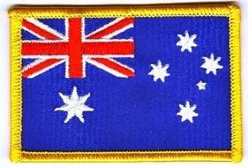 Flaggen Aufnäher Patch Australien Fahne Flagge NEU