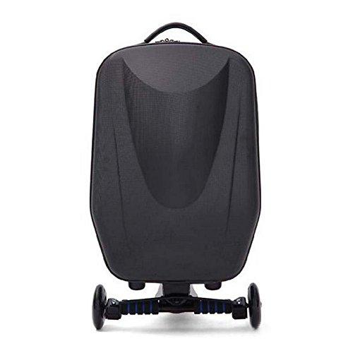 Hrph Nueva 21inch Hard-Shell Ruedas Ruedas Scooter maleta del equipaje con el...