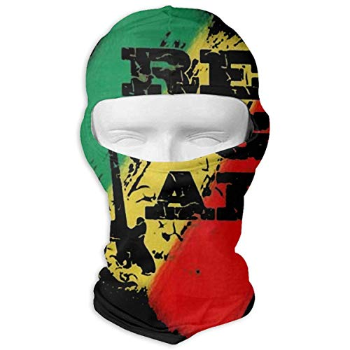Vidmkeo Reggae Rasta Guitar Music Unisex Face Mask Dust Sun UV Protection Sun Mask New13