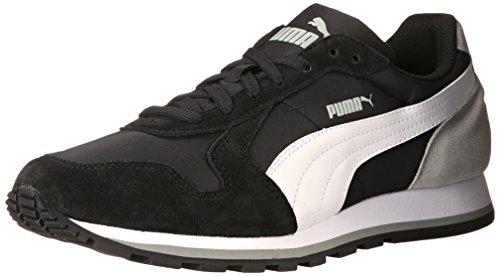 Puma St Runner Nl Fashion Sneakers Black/White/Limestone Gray