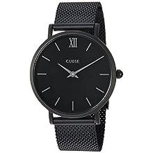 Cluse Damen Armbanduhr Analog Quarz Edelstahl CL30011