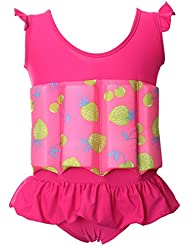 Baby Girls Boys One Piece Swimwear Cute Ruffle Swimsuit Swimming Costume