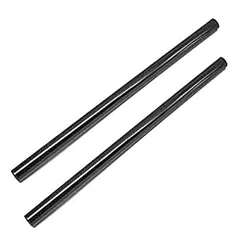 Tqshooting 15mm Carbon Fiber Rods 9.8inch (25cm) Länge für Rod Support System DSLR Schulter Rig