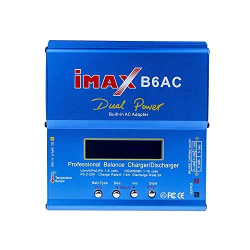 IMax B6 Digitaler LCD-Bildschirm Lipo NiMh-Akkuladegerät für Batterien Lipo/Li-Ion/Life/NiMh/NiCd/Pb/Blei-Säure Lipo Li-ionen