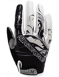 onnyslv Otoño Ciclismo Sísmica Wear Guantes Dedos Largos, color Gris - gris, tamaño mediano