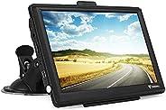 GPS Navigationsgerät für Auto, Navigation für LKW PKW KFZ 7 Zoll 8GB 256MB Touchscreen Navi mit POIBlitzerwarnungSprachfüh