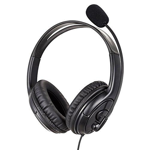 USB Headset PC Dual Ear mit Noise Cancelling Mikrofon für Skype Microsoft Lync Education Spracherkennung Teach Online