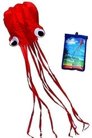 hengda-kite-beautiful-large-easy-flyer-kite-for-kids-red-software-octopus-its-big-31-inches-wide-wit