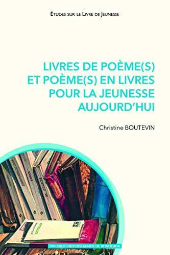 Livres De Poeme S Et Poeme S En Livres Pour La Jeunesse