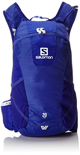 Salomon Trail 20 Blue/White Mochilas y bolsillos, Spectrum Azul/Blanco, Uni