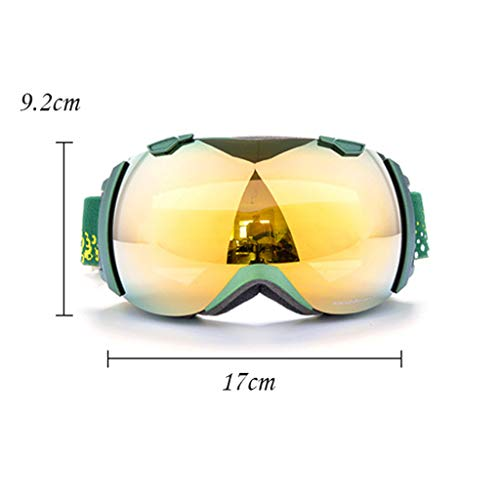 Ski Snowboard Goggles, Anti - Fogging Skating Goggles, Anti - Fogging, UV 400 Protection for Skiing, Snowmobiles, Thanksgiving Gift Img 4 Zoom